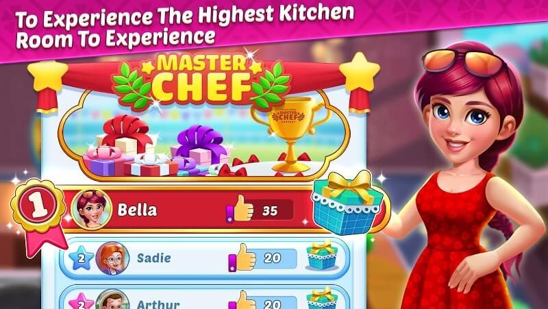 download cooking tasty mod apk