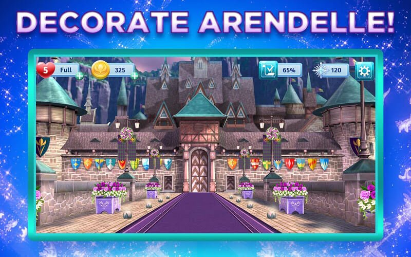 download disney frozen adventures mod apk