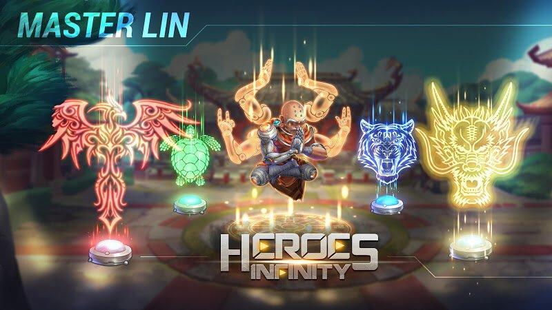 download heroes infinity mod money