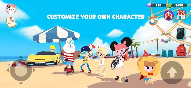 download play together mod money