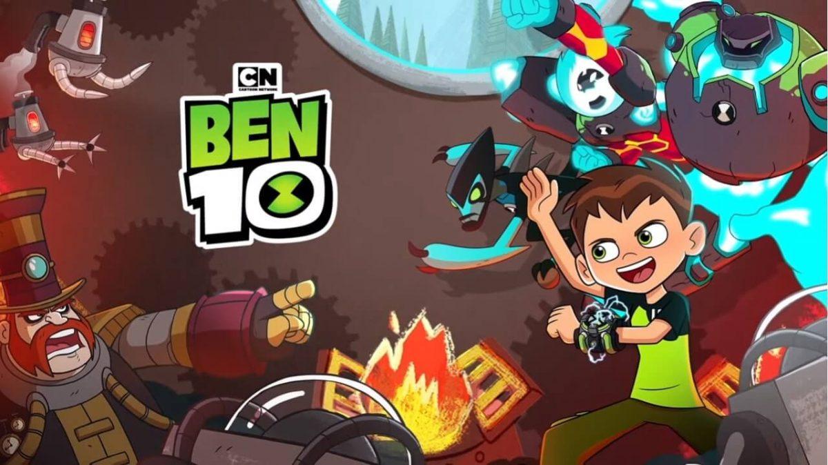 cover ben 10 omnitrix hero