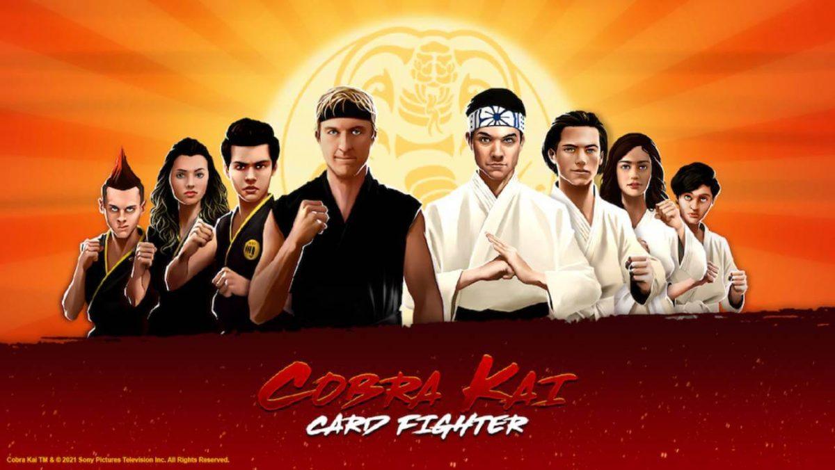 cover cobra kai card fighter