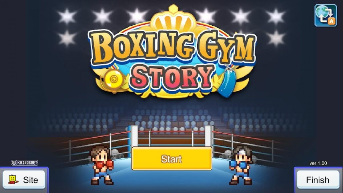 cover boxing gym story