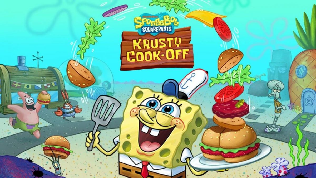 cover spongebob krusty cook off