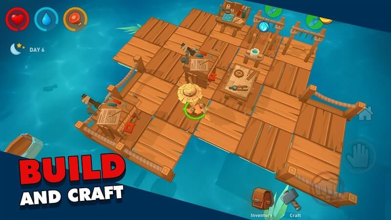 download epic raft mod apk