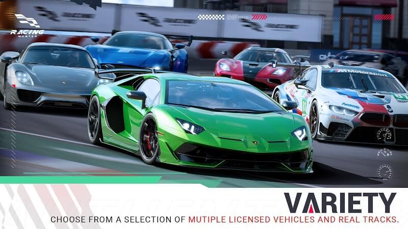 download racing master apk