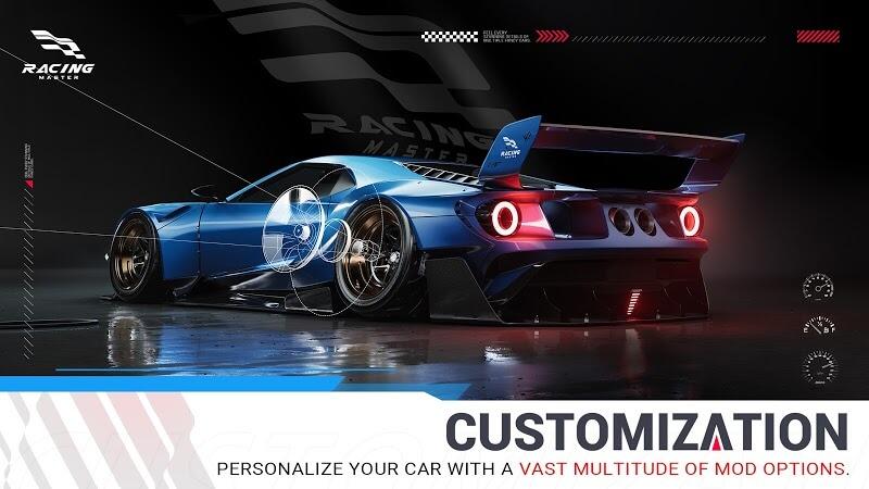 download racing master mod full