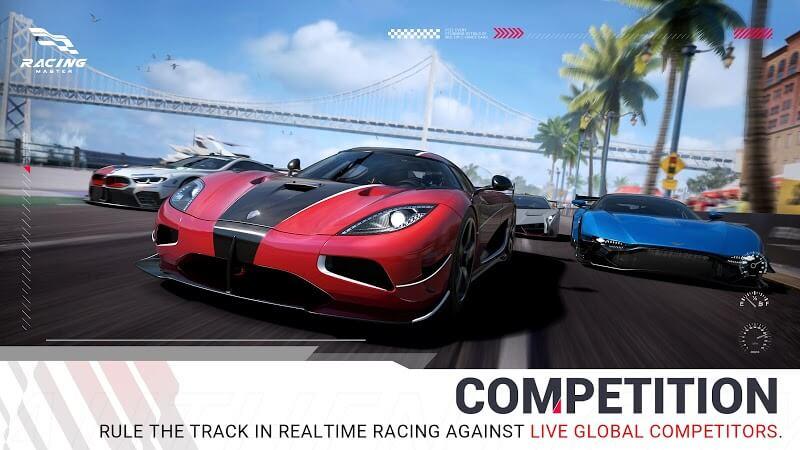 download racing master mod money