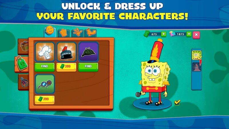 download spongebob krusty cook off mod apk