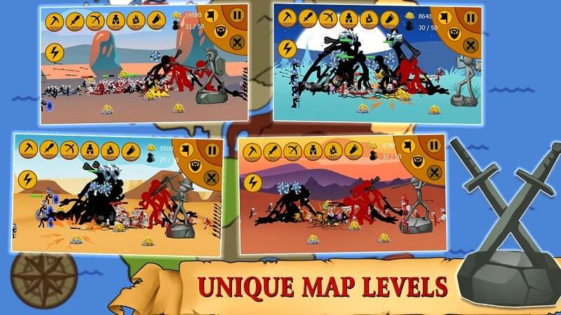 download stickman battle 2021 mod apk