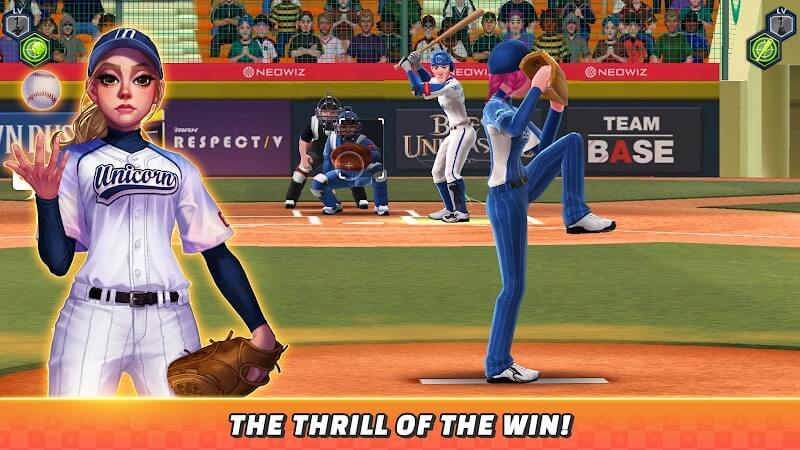 download baseball clash apk