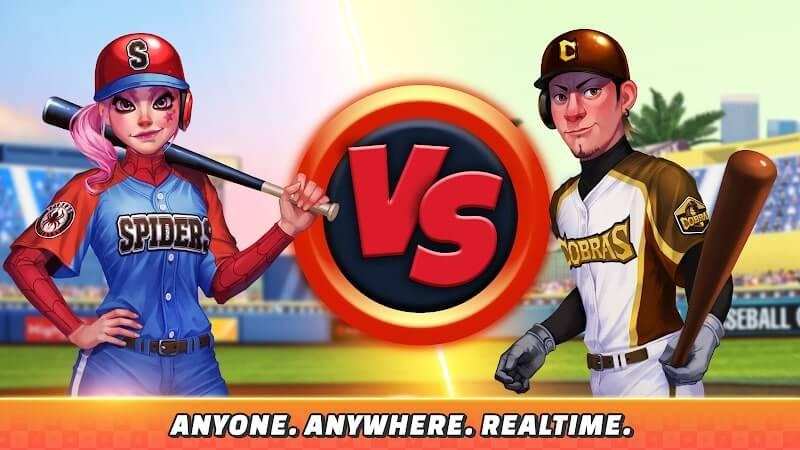 download baseball clash mod apk