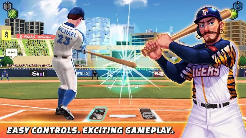 download baseball clash