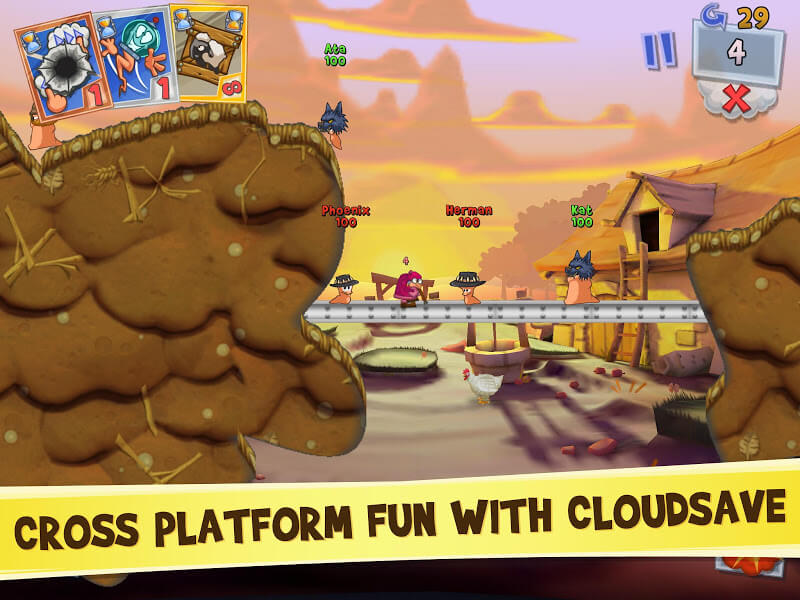 download worms 3 mod money
