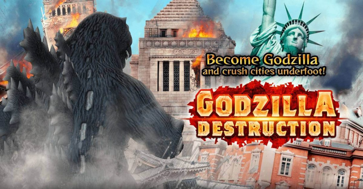 cover godzilla destruction