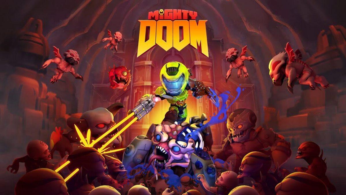 cover mighty doom