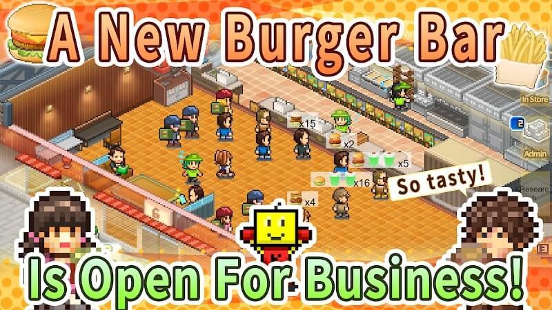 download burger bistro story apk