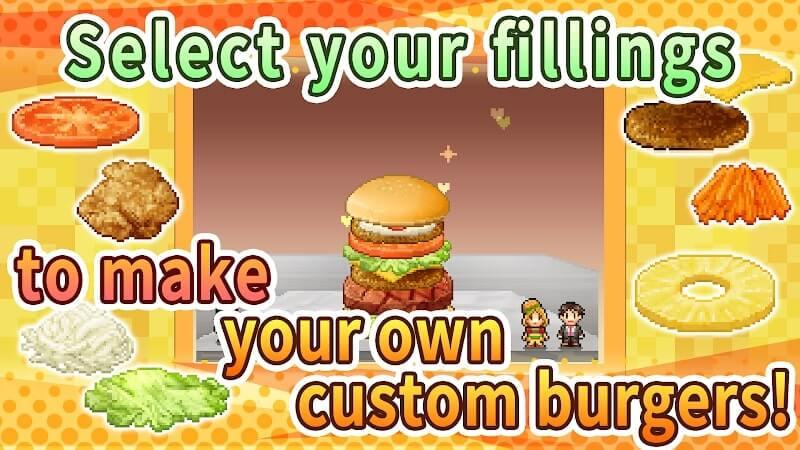 download burger bistro story mod apk