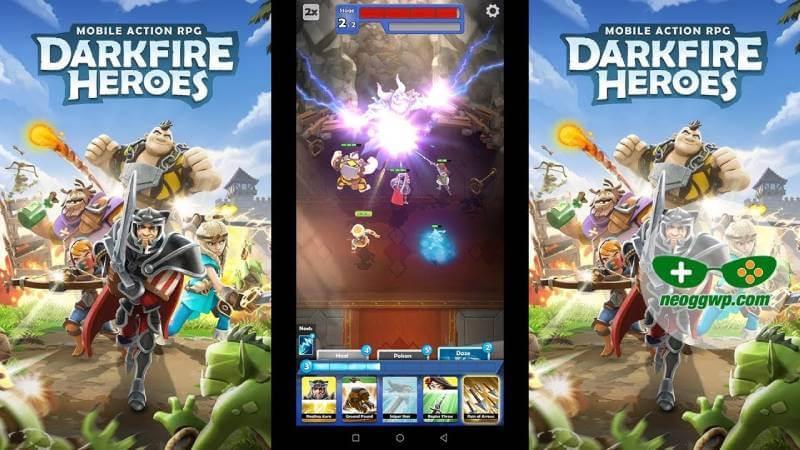 download darkfire heroes mod full