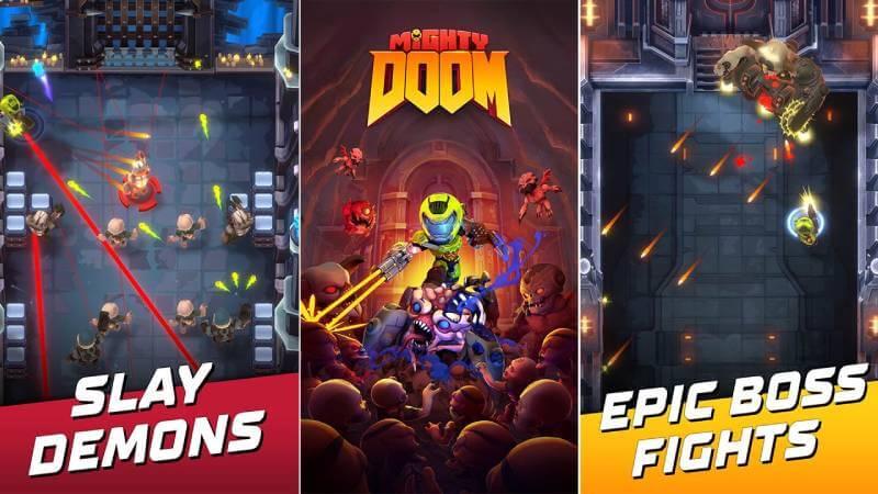 download mighty doom mod apk