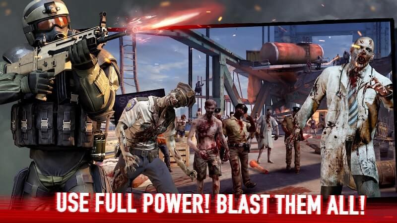 download zombie frontier 4 mod apk