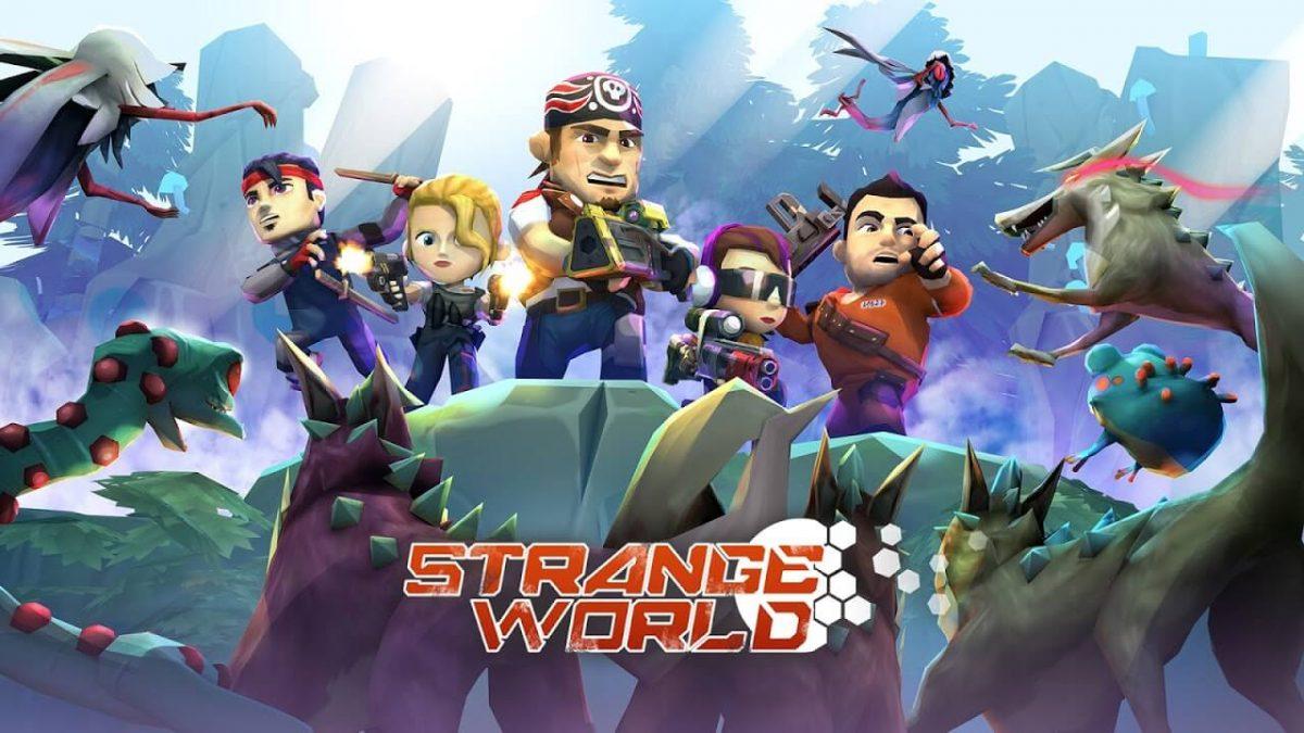 cover strange world