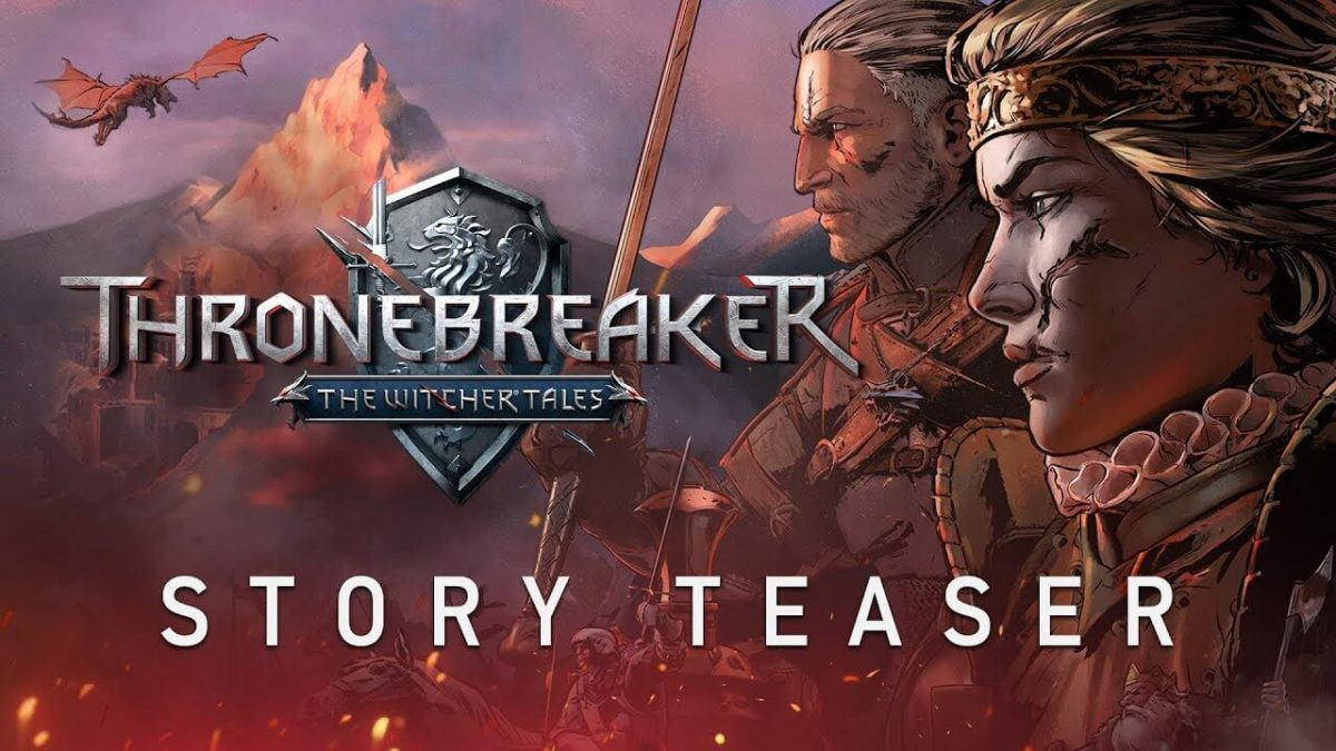 cover the witcher tales thronebreaker