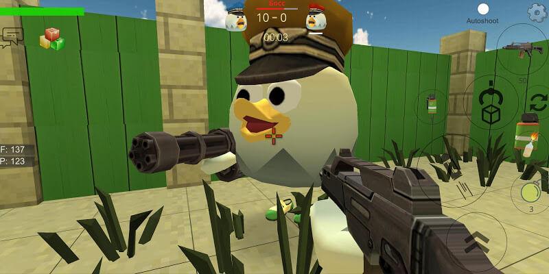 download chicken gun mod money