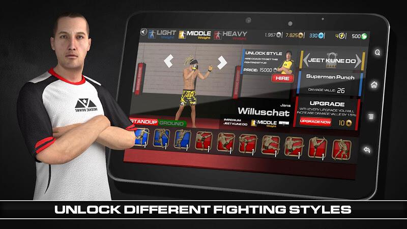download mma fighting clash mod apk