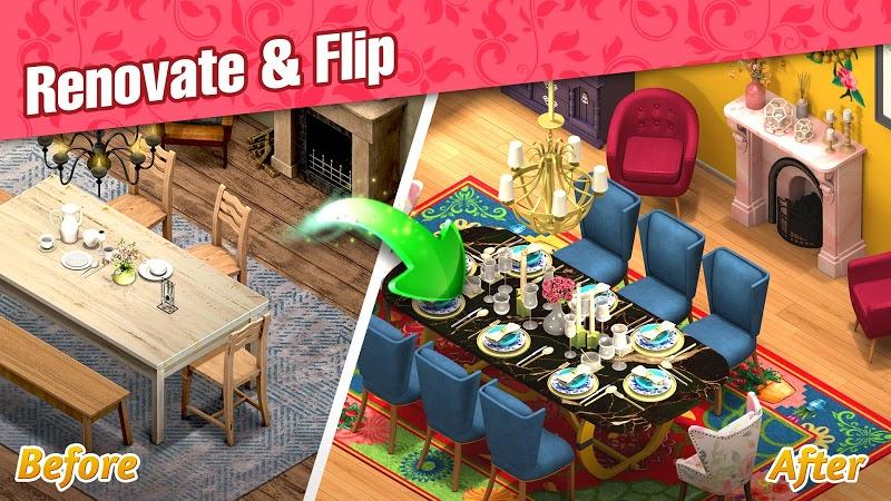 download room flip mod apk