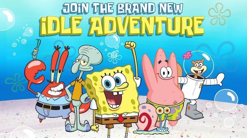 download spongebobs idle adventures mod apk