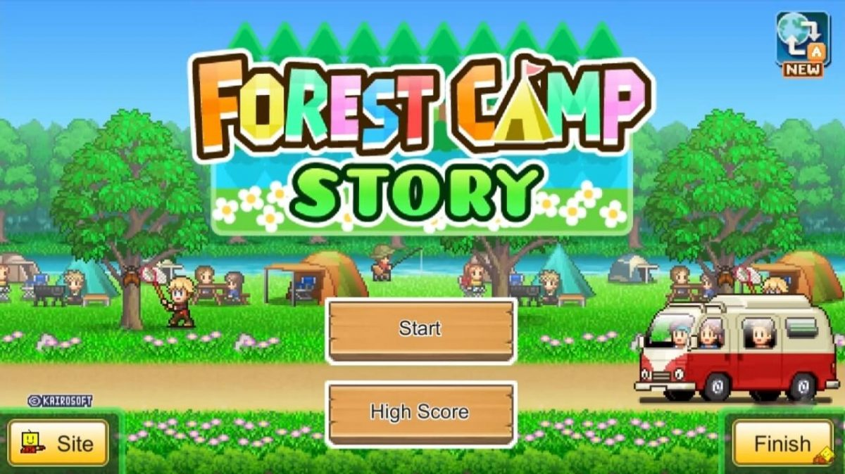 cover forest camp story