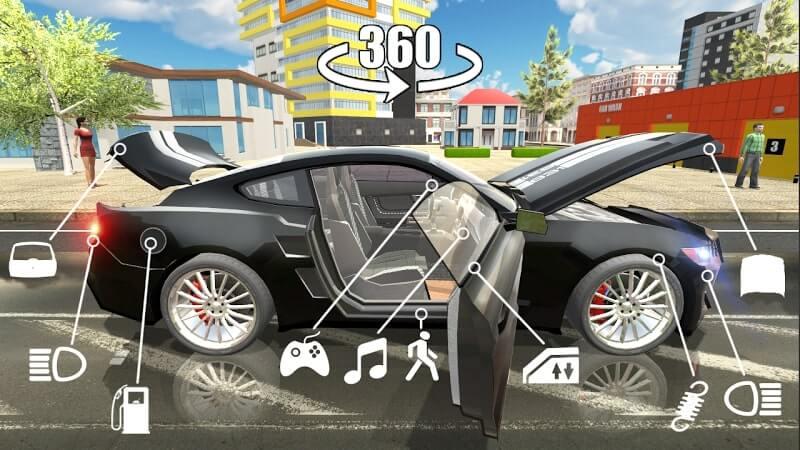 download car simulator 2 mod apk