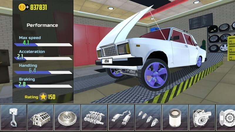 download car simulator 2 mod money