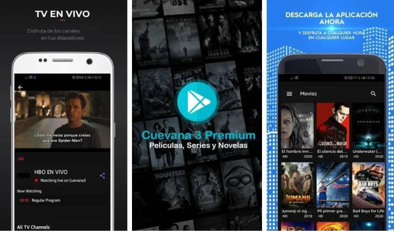 download cuevana 3 premium mod apk