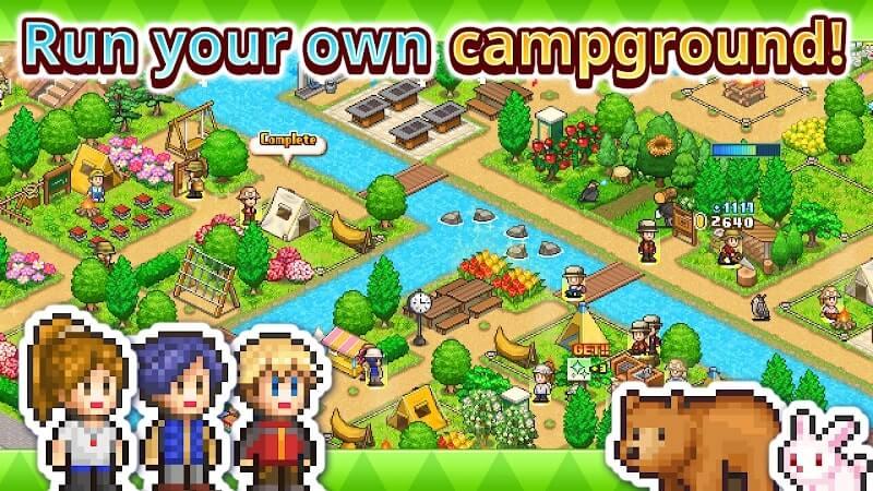 download forest camp story mod apk