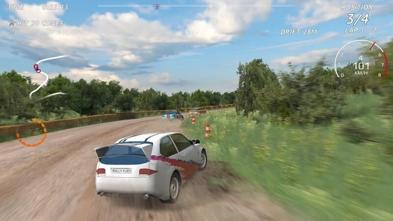 download rally fury mod apk