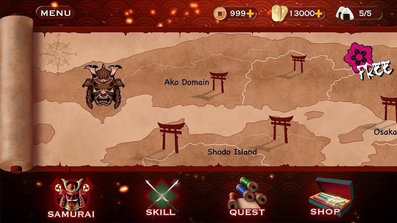 download samurai 3 mod apk