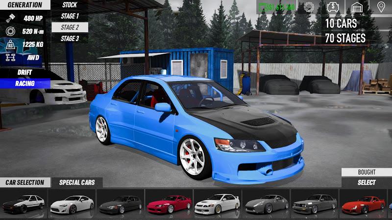 download touge drift racing mod apk