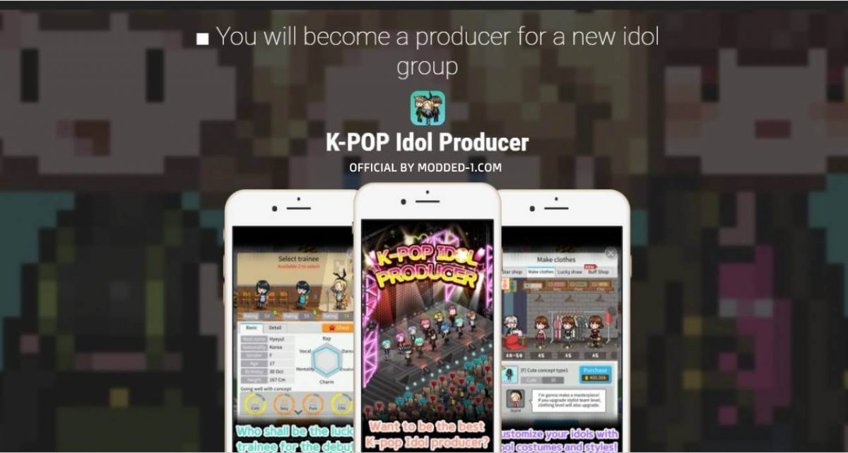 cover k pop idol producer