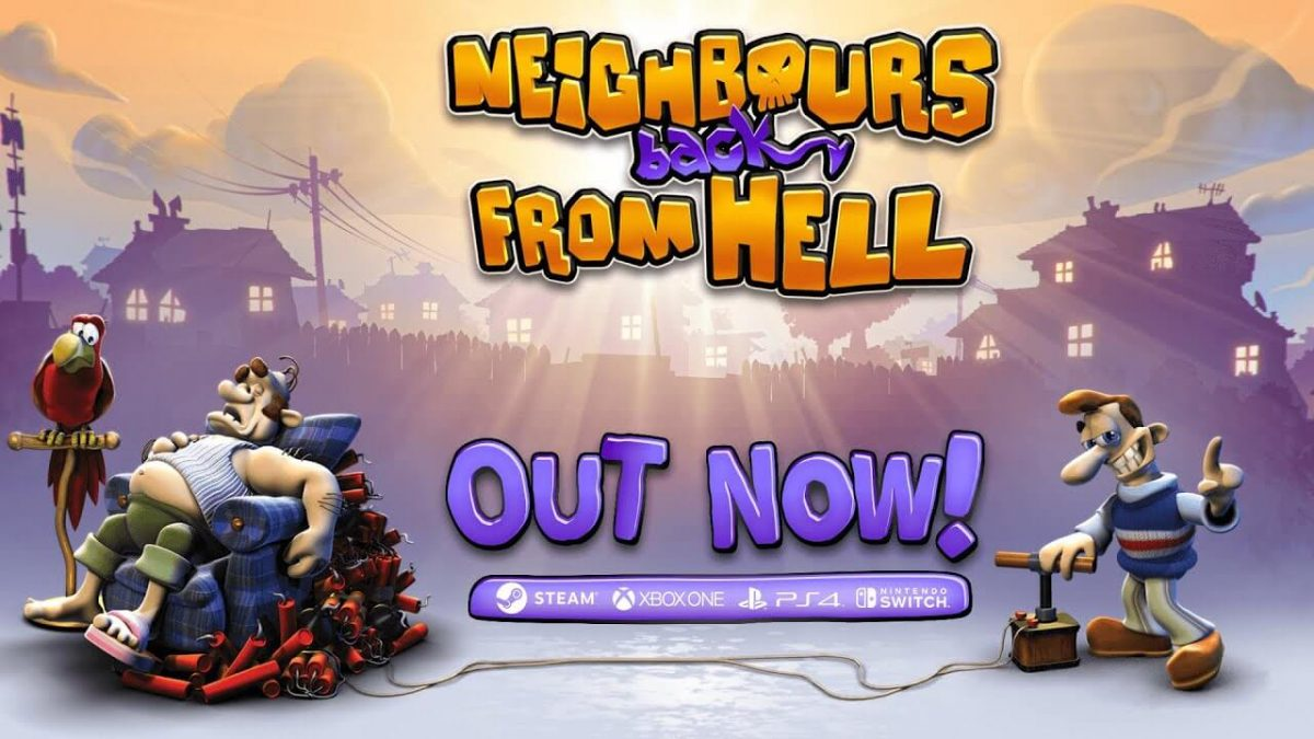 cover neighbours back from hell