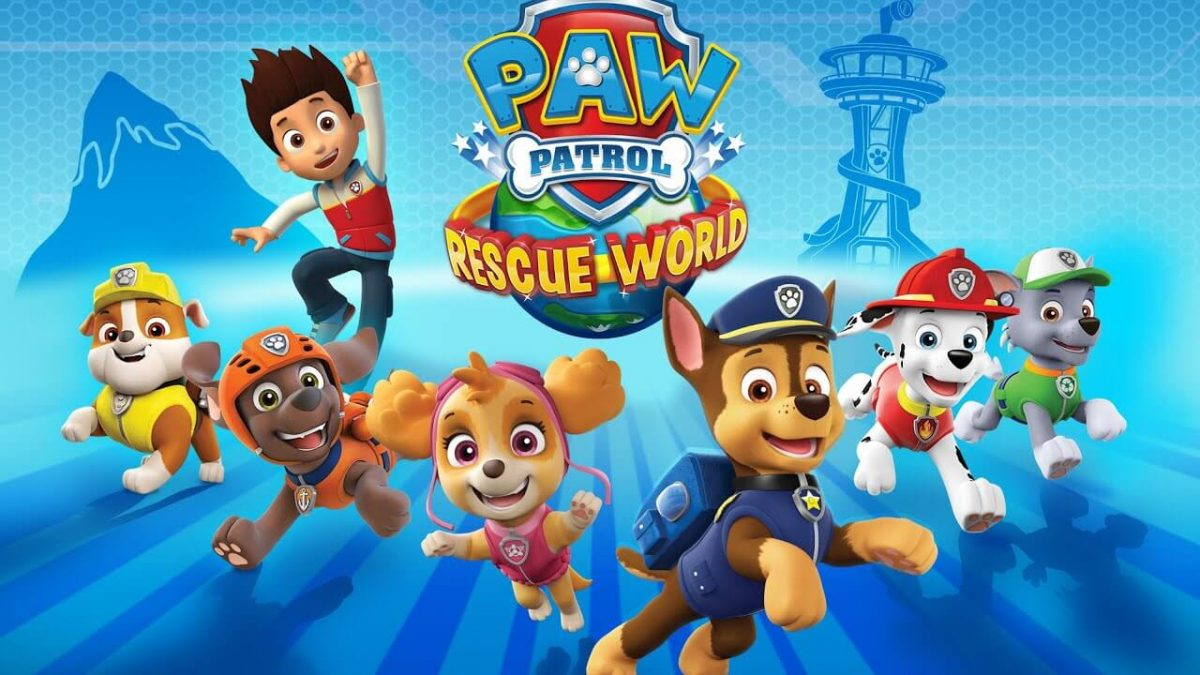 cover paw patrol rescue world