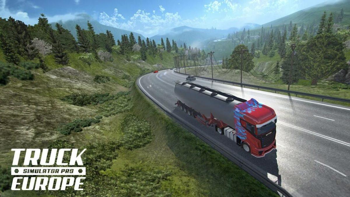 cover truck simulator pro europe