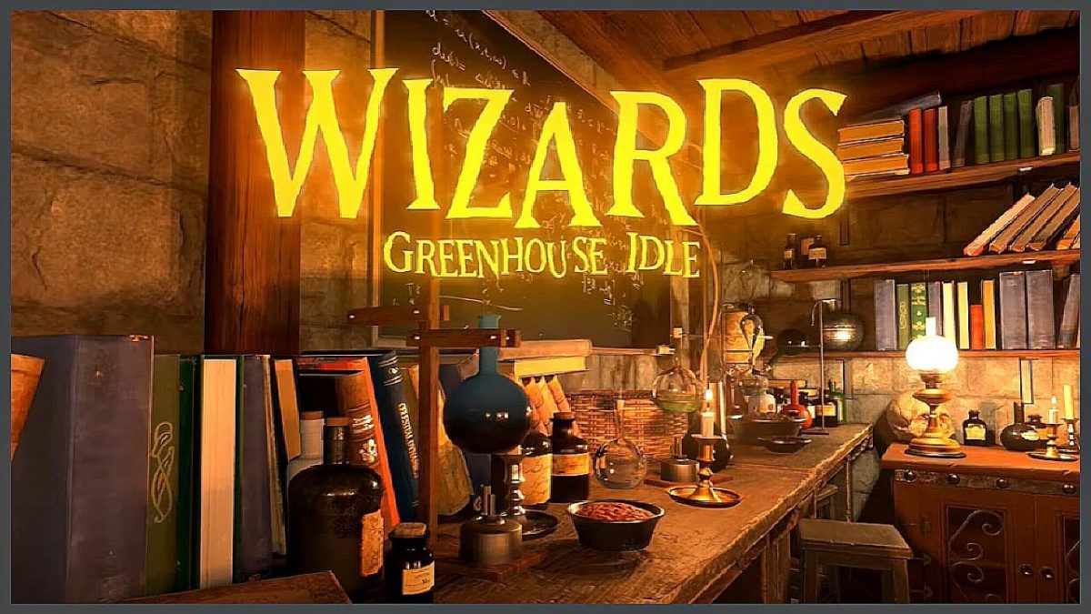 cover wizards greenhouse idle
