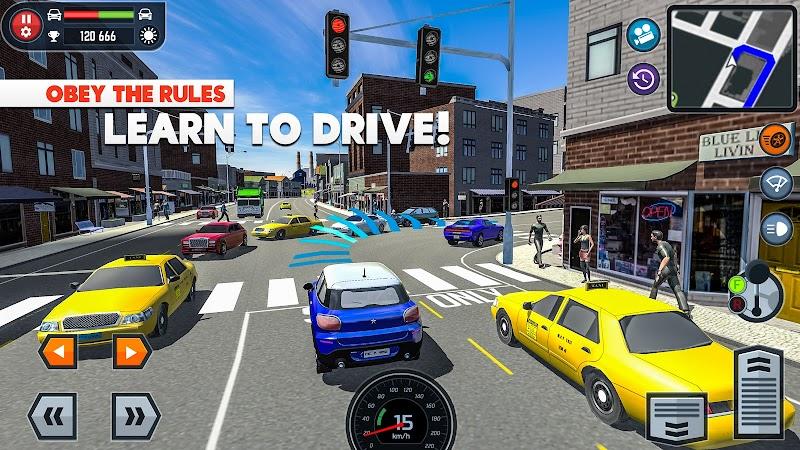 download car driving school simulator apk