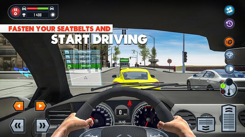 download car driving school simulator mod apk