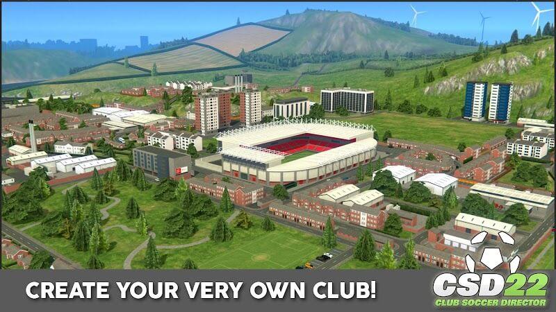 download club soccer director 2022 mod apk