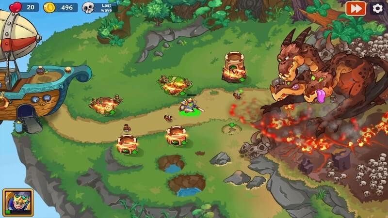 download king of defense 2 apk