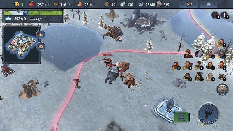 download northgard mod apk