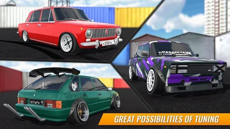 download russian car drift mod apk